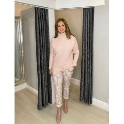 Lucy Cobb Jennie Jumper in Baby Pink