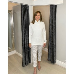 Lucy Cobb Jennie Jumper in Ivory