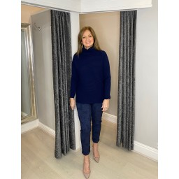 Lucy Cobb Jennie Jumper in Navy