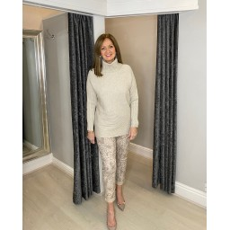 Lucy Cobb Jennie Jumper in Stone