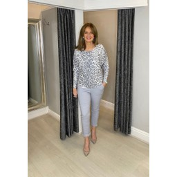 Lucy Cobb Magic Joggers - Plain in Silver