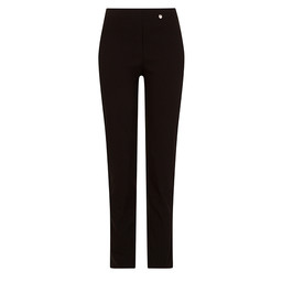 Robell Trousers Bella Full Length Trousers in Black