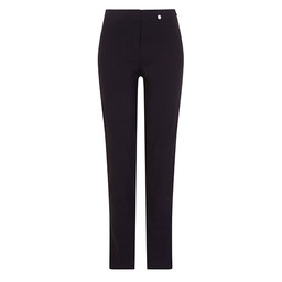 Robell Trousers Bella Full Length Trousers in Navy