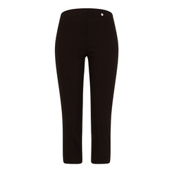 Robell Trousers Rose 07 Capri Trousers in Black
