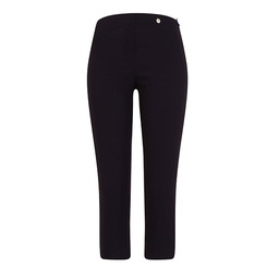 Robell Trousers Rose 07 Capri Trousers in Navy