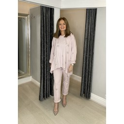 Lucy Cobb Carina Star Tracksuit - Baby Pink