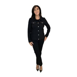 Robell Trousers Sparkle Happy Jacket  - Black