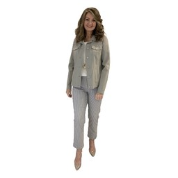 Robell Trousers Happy Jacket in Light Taupe