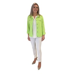Robell Trousers Happy Jacket - Lime(810)