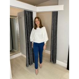 "Robell Trousers Marie Petite 29"" Denim Jeans in Mid Denim"