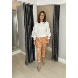 Lucy Cobb Java Magic Joggers in Apricot