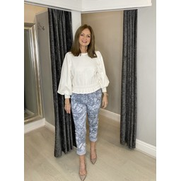 Lucy Cobb Topaz Magic Joggers in Grey