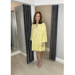 Lucy Cobb Tulum Tunic in Lemon