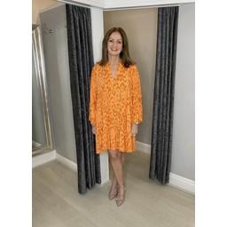 Lucy Cobb Tulum Tunic in Orange