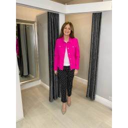 Robell Trousers Happy Jacket - Neon Pink