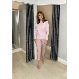 Lucy Cobb Magic Joggers - Plain in Blush Pink