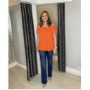 Bonnie Bardot Frill Top - Orange