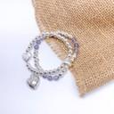 Heidi Heart Bracelet - Silver
