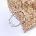 Butterfly Wing Bracelet  - Silver
