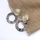 Earrings 1083 - Stone
