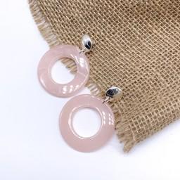 Lucy Cobb Jewellery Earrings 0786 in Baby Pink