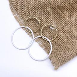 Lucy Cobb Jewellery Earrings 0161 in White