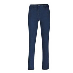 "Robell Trousers Bella Petite 29"" Denim - Mid Denim"