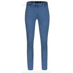 "Robell Trousers Marie Petite 29"" Denim Jeans - Light Denim Blue"