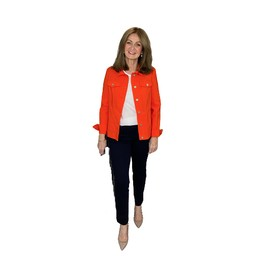 Robell Trousers Happy Jacket in Orange