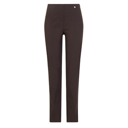 Robell Trousers Marie Ultra Thin Fleece Lined Trousers in Slate
