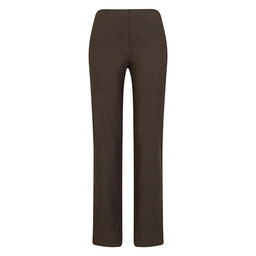 Robell Trousers Marie Fleece Lined Trousers - Taupe