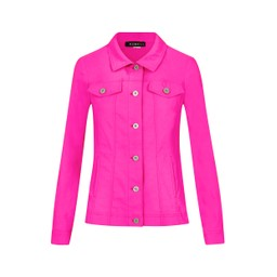 Robell Trousers Happy Jacket in Neon Pink