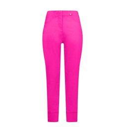 Robell Trousers Bella 09 7/8 Trousers in Neon Pink