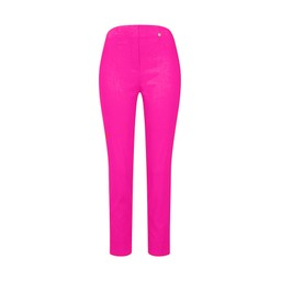Robell Trousers Rose 09 7/8 Trousers in Neon Pink