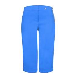 Robell Trousers Bella 05 Bermuda Shorts in Azure Blue