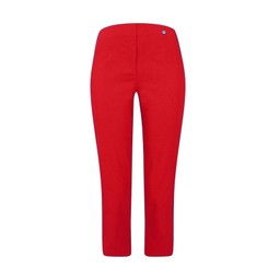 Robell Trousers Marie 07 Capri Trousers in Red