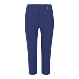 Robell Trousers Rose 07 Capri Trousers in Denim Blue