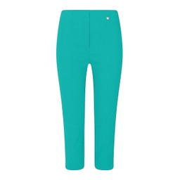 Robell Trousers Rose 07 Capri Trousers in Pool Green