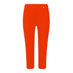 Robell Trousers Rose 07 Capri Trousers in Orange
