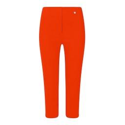 Robell Trousers Rose 07 Capri Trousers - Orange