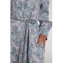 Paisley Print Linen Dress - Multicoloured - Alternative 4