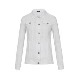Robell Trousers Seersucker Happy Jacket in White