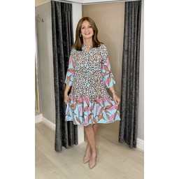 Lucy Cobb Fion Floral Smock Dress - Floral