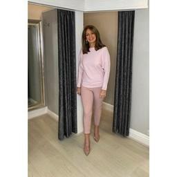Lucy Cobb Magic Joggers Petite - Plain in Blush Pink