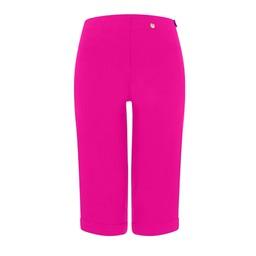 Robell Trousers Bella 05 Bermuda Shorts in Neon Pink