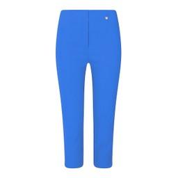 Robell Trousers Rose 07 Capri Trousers in Azure Blue