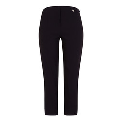 Robell Trousers Marie 07 Capri Trousers in Navy