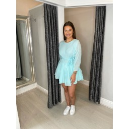 Lucy Cobb Rosie Rope Tie Tunic in Mint