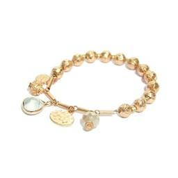 Lucy Cobb Jewellery Gold Ball Bracelet 1375 - Gold