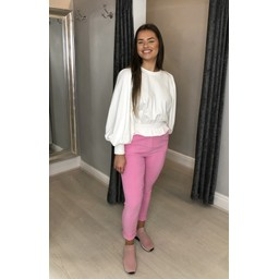 Lucy Cobb Curve Magic Joggers - Plain Curve in Bubblegum Pink